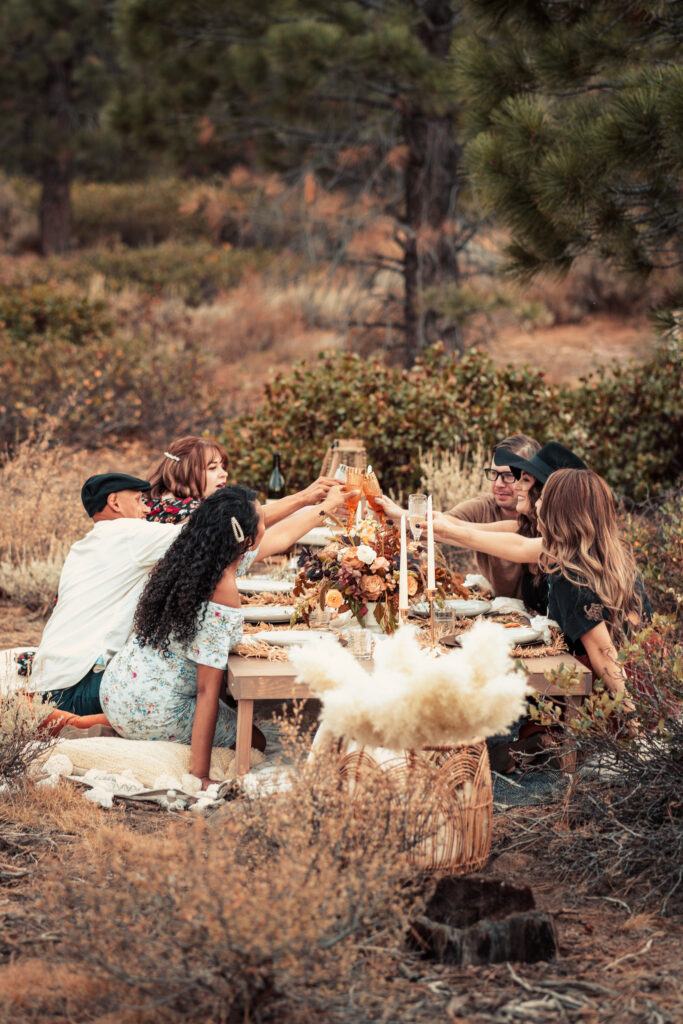 Custom Group Outdoor Picnic at Reverie Picnics